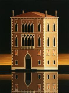 Palazzo by Renny Tait, oil on canvas, 122 x 92 cm