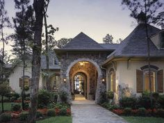 european home styles | European Style House Design Amazing Game Room with Private Porch ...