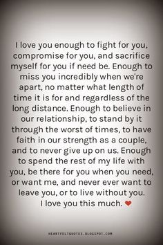 Heartfelt  Love And Life Quotes:  Romantic Love Quotes and Love Messages for him or for her.