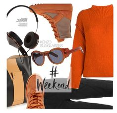 """""""#weekend"""" by smartbuyglasses-uk ❤ liked on Polyvore featuring Sportmax, Frends, Kenzo, kenzo, weekend, sunglasses, sunnies and Yeezy"""