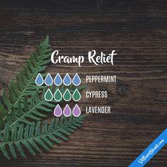 Cramp Relief - Essential Oil Diffuser Blend