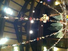 Create a super large star to represent the star the magi followed.---Epiphany at First United Church Oak Park, IL