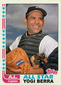 1982 Topps Yogi Berra, New York Yankees, Cards That Never Were: 1982 All Star Game Honorary Captains: Duke Snider & Yogi Berra
