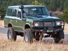 crazyforcars:  Land Cruiser  this was the first car I drove can...