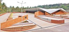 Gallery of Valpoi Busstand and Community Hall / Rahul Deshpande and Associates - 16