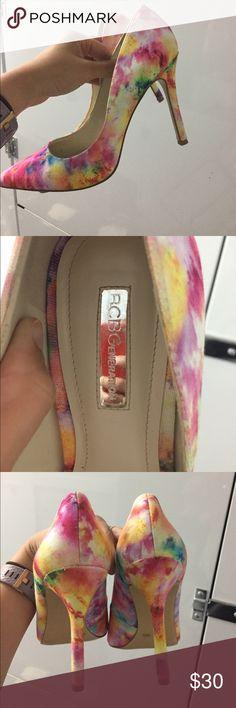 Multi color BCBGeneration pumps Multi color BCBGeneration pumps BCBGeneration Shoes Heels