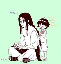 Uncle Neji and Himawari
