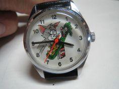Vintage Tom & Jerry Cartoon Watch