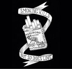 Cigarettes tattoo