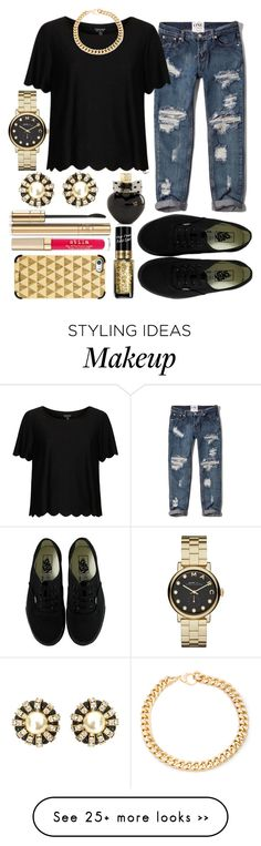 """"" by bloom17 on Polyvore featuring Vans, Abercrombie & Fitch, Topshop, Aéropostale, Marc by Marc Jacobs, Alessandra Rich, L'Oréal Paris, Dolce&Gabbana, Stila and Casetify"