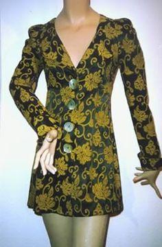 Vintage BIBA Long Sleeves Dress