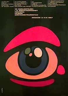 FESTIVAL OF SHORT FILMS, 1967 - polish poster