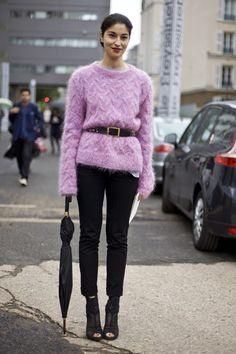 calivintage:  Caroline's Mohair   Street Fashion   Street Peeper   Global Street Fashion and Street Style