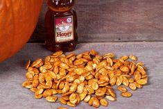 Honey Roasted Sriracha Pumpkin Seeds