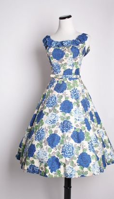 Vintage 1950s Cocktail Dress / Dress / Dresses / by aiseirigh, $245.00