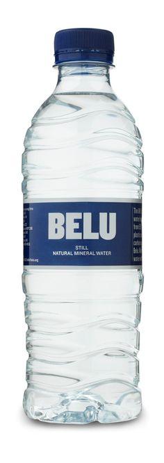 1 Case of 24 Bottles Belu Mineral Water 500ml screw cap