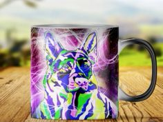 Heat color changing mugs german shepherds...   order here:http://familyloves.com/products/heat-color-changiing-mug-german-shepherd-mugs?utm_campaign=social_autopilot&utm_source=pin&utm_medium=pin #dadgift #momgift #nativeamerican #dadquotes #fatherday #motherday #dog