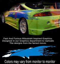mitsubishi 3000gt fast and furious. fast and furious inspired mitsubishi eclipse graphics by ceibfg 3000gt