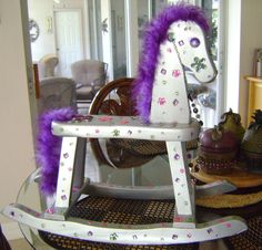 rocking horse for charity