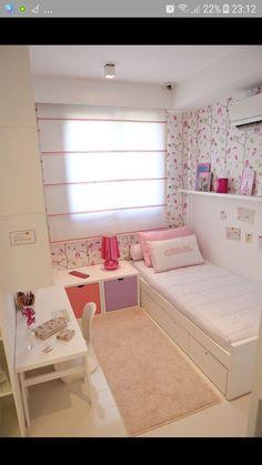 Room Design Bedroom, Girl Bedroom Designs, Room Ideas Bedroom, Home Room Design, Home Decor Bedroom, Kids Bedroom, Bedroom Retreat, Bedroom Furniture, Master Bedroom
