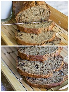 Sugar & Oil Free Vegan Banana Nut Bread Recipe