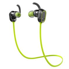 Special Offers - Anker SoundBuds In-Ear Sport Earbuds Magnetic Wireless Bluetooth Headphones with 8-Hour Playtime and CVC 6.0 Noise Cancellation IPX4 Sweatproof for Running Workout Gym  Sports Earphones with Mic For Sale - In stock & Free Shipping. You can save more money! Check It (November 29 2016 at 08:22PM) >> http://ift.tt/29Spayz