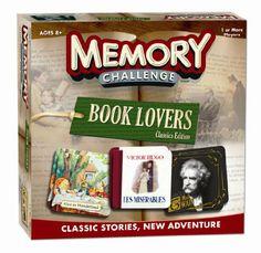Amazon.com: Book Lover's Memory: Toys & Games