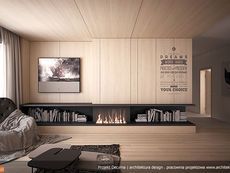DOM.PL™ - Projekt domu MT Decyma CE - DOM MS2-37 - gotowy koszt budowy Colonial, House Plans, House Design, How To Plan, Inspiration, Plants, Living Room, Projects, Biblical Inspiration