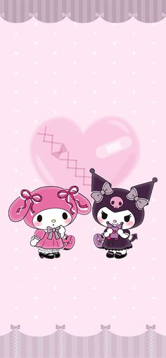Hello Kitty Iphone Wallpaper, My Melody Wallpaper, Hello Kitty Backgrounds, Sanrio Wallpaper, Cute Anime Wallpaper, Aesthetic Iphone Wallpaper, Aesthetic Wallpapers, Melody Hello Kitty, Iphone Home Screen Layout