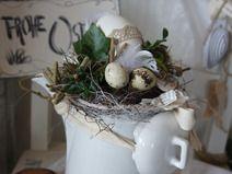 Ostern in der Kaffeekanne....