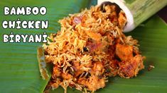 Bamboo Chicken Biryani [Foodvedam Farm Series] వెదురు బొంగులో చికెన్ బిర్యానీ - YouTube