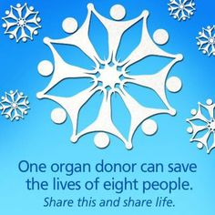 Organ and tissue donation. #donatelife