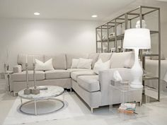 Grey and White Home Decor . 24 Inspirational Grey and White Home Decor . Grey In Home Decor Passing Trend or Here to Stay Modern White Living Room, White Rooms, Living Room Grey, Living Room Carpet, Living Room Sectional, Living Room Furniture, Living Room Decor, Sectional Sofas, Living Rooms