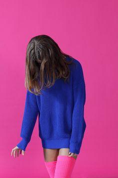 Image via We Heart It #aesthetic #bambi #blue #cute #fashion #grunge #indie…
