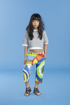 Pop print pants from