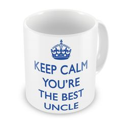 Keep Calm You're The Best Uncle Mug >> Don't get left behind, see this great product offer  : Free Home and Kitchen