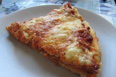 Pizza z mięsem mielonym, czyli πίτσα με κιμά