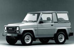Технические характеристики Daihatsu (Дайхатсу) Rocky Wagon 2.0 3 дв. внедорожник 5МКПП 1988-1989 г.