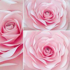 Un favorito personal de mi tienda Etsy https://www.etsy.com/listing/251563541/large-pink-paper-flower-wedding-flowers