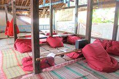 La Boheme Hostel on Gili Trawangan Easter 2015, Gili Trawangan, Gili Island, Hostel, Islands, Bali, Thailand, Home Appliances, Furniture