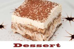 Super useful tiramisu. Quick Dessert Recipes, Homemade Desserts, Easy Desserts, Italian Pasta Recipes, Cheesecake Desserts, Favorite Recipes, Cooking, Ethnic Recipes, Jefferson Park