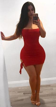 De rojo