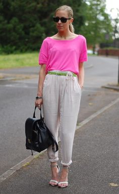 Get this look: http://lb.nu/look/3767525  More looks by Daniella Robins: http://lb.nu/user/218371-Daniella-R  Items in this look:  J.Crew (Old)Top, Sonia By Sonia Rykiel (Old) Trousers, Asos Shoes