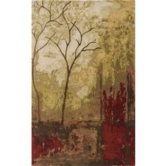 @Overstock - The Impressionist painting style was influenced by nature, light and scenes from daily life. This Monet rug captures these elements in a hand-tufted modern masterpiece. The warm color palette evokes a landscape at sunset.http://www.overstock.com/Home-Garden/Hand-tufted-Monet-Autumn-Multi-Rug-80-x-110/7157619/product.html?CID=214117 $577.99