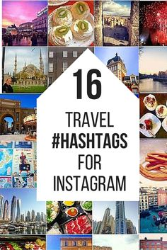The best travel hashtags for instagram in 2016! Hashtags for travelers.
