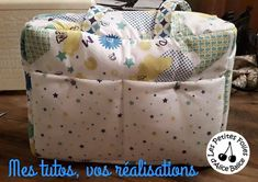 Diy Couture, Baby Coming, Diaper Bag, Ideas, Baby Sewing, Couture Sac, Tuto Couture, Baby Necessities, Baby Puffs
