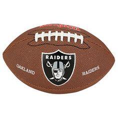 Bola Futebol Americano Wilson Oakland Raiders - Marrom