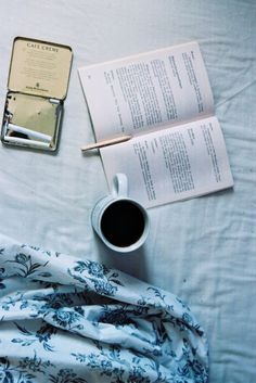 coffee...a good book...and hand rolled cigarettes