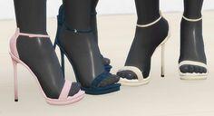 Platform Sandals at MA$ims4 • Sims 4 Updates
