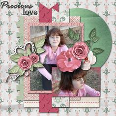 Pictures of my daughter.  Kit used: PrelestnayaP's Precious Love available at https://www.pickleberrypop.com/shop/product.php?productid=42418&page=1  Template used: Brenian Designs' Pop of Life available at http://www.godigitalscrapbooking.com/shop/index.php?main_page=product_dnld_info&cPath=234_413_414&products_id=26776.
